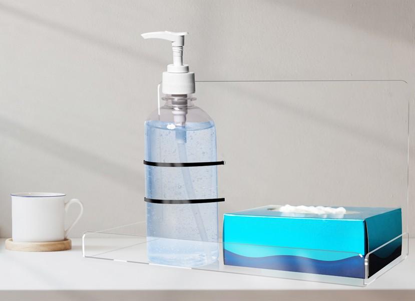 Dispenser Gel Igienizzante da Tavolo in Plexiglass con ...